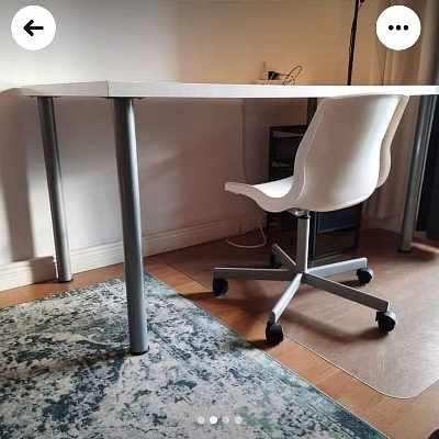 image of Skrivbordset + stol -