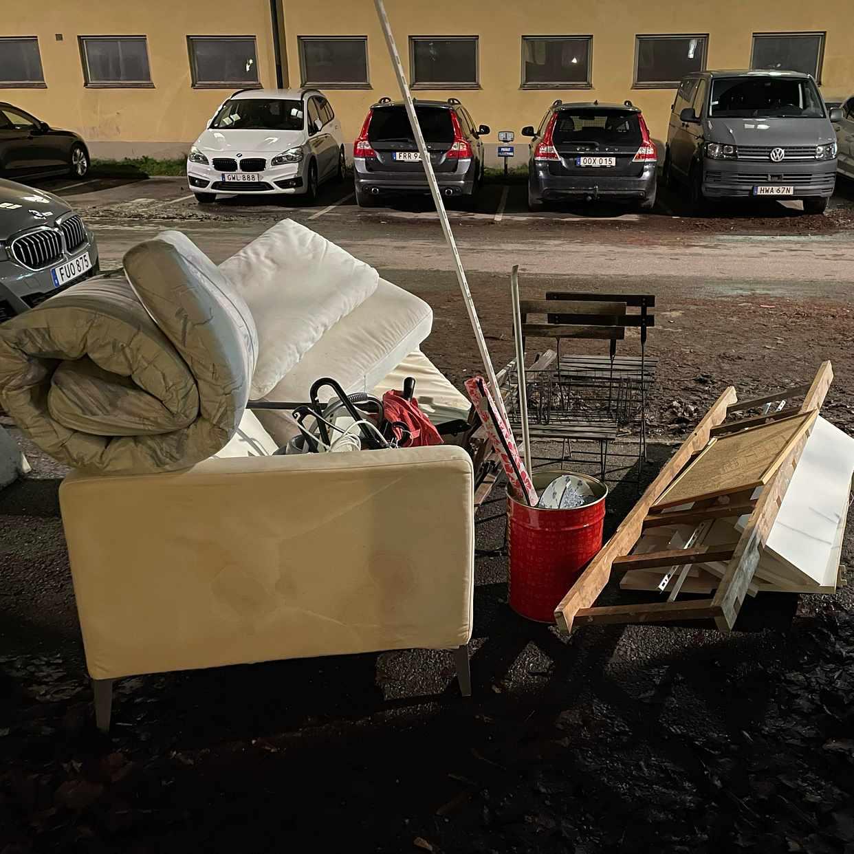 image of Mixed rubbish - Solna
