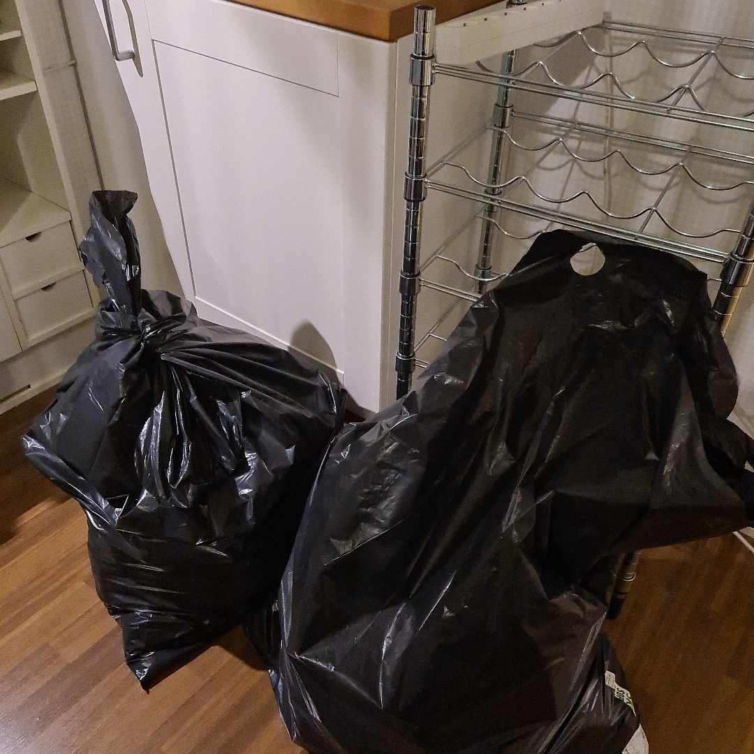 image of Kitchen trash + wine rack - Bromma