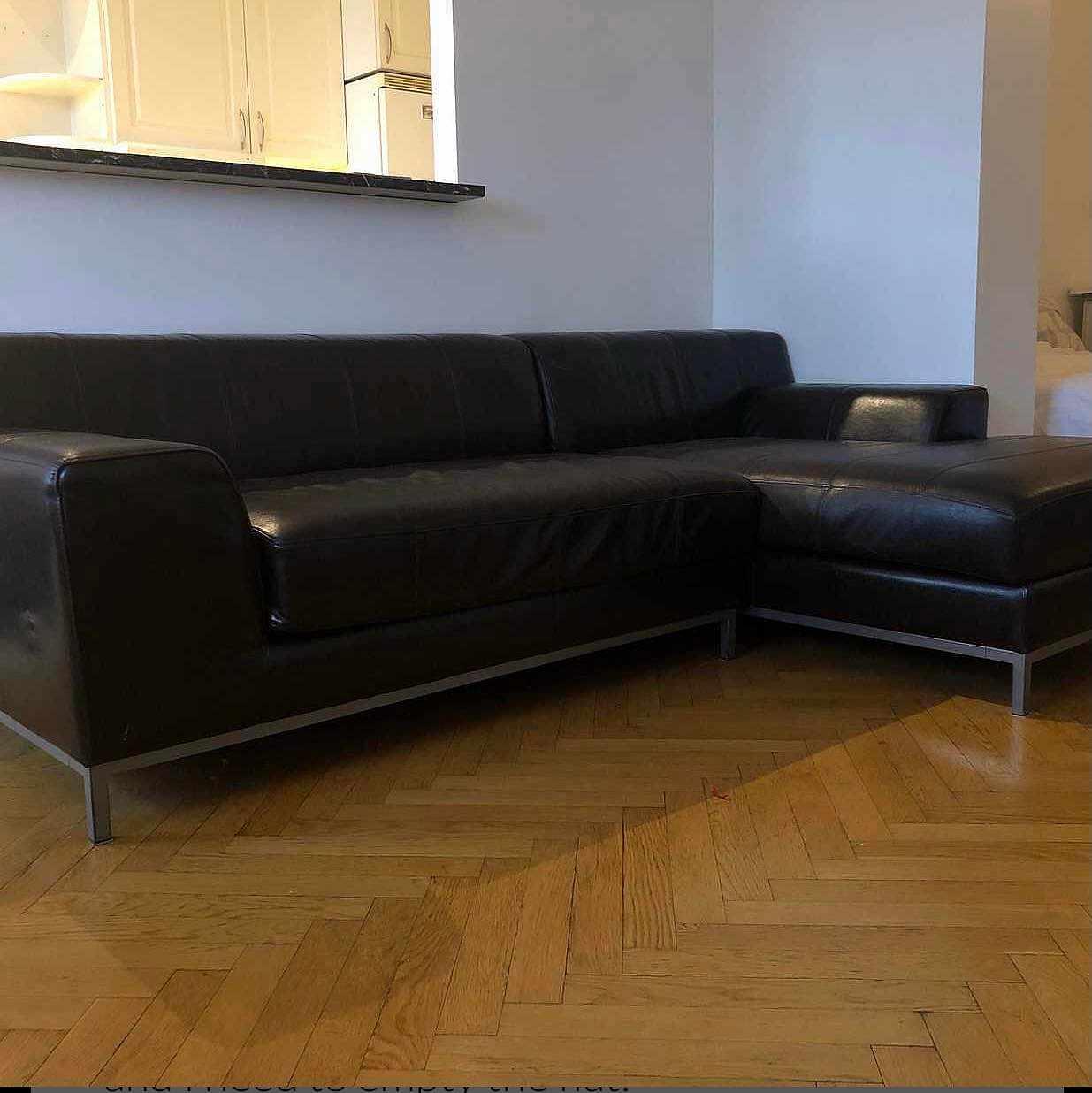 image of Hämta och lämna soffa -