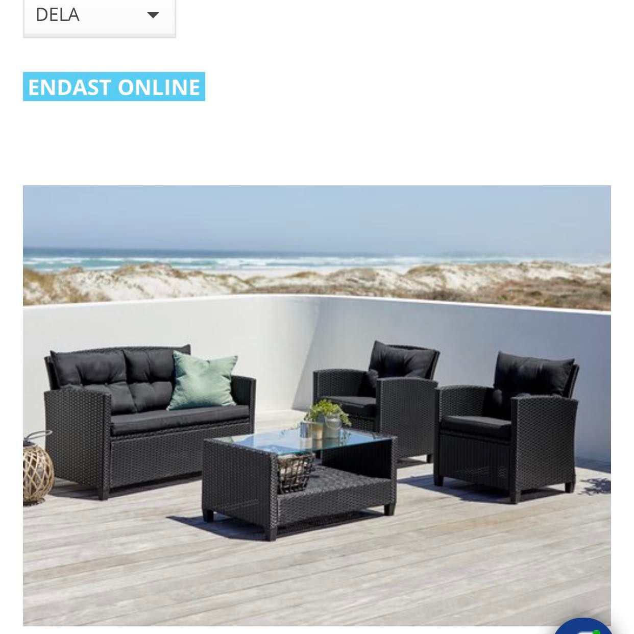 image of 4 olika möbler -