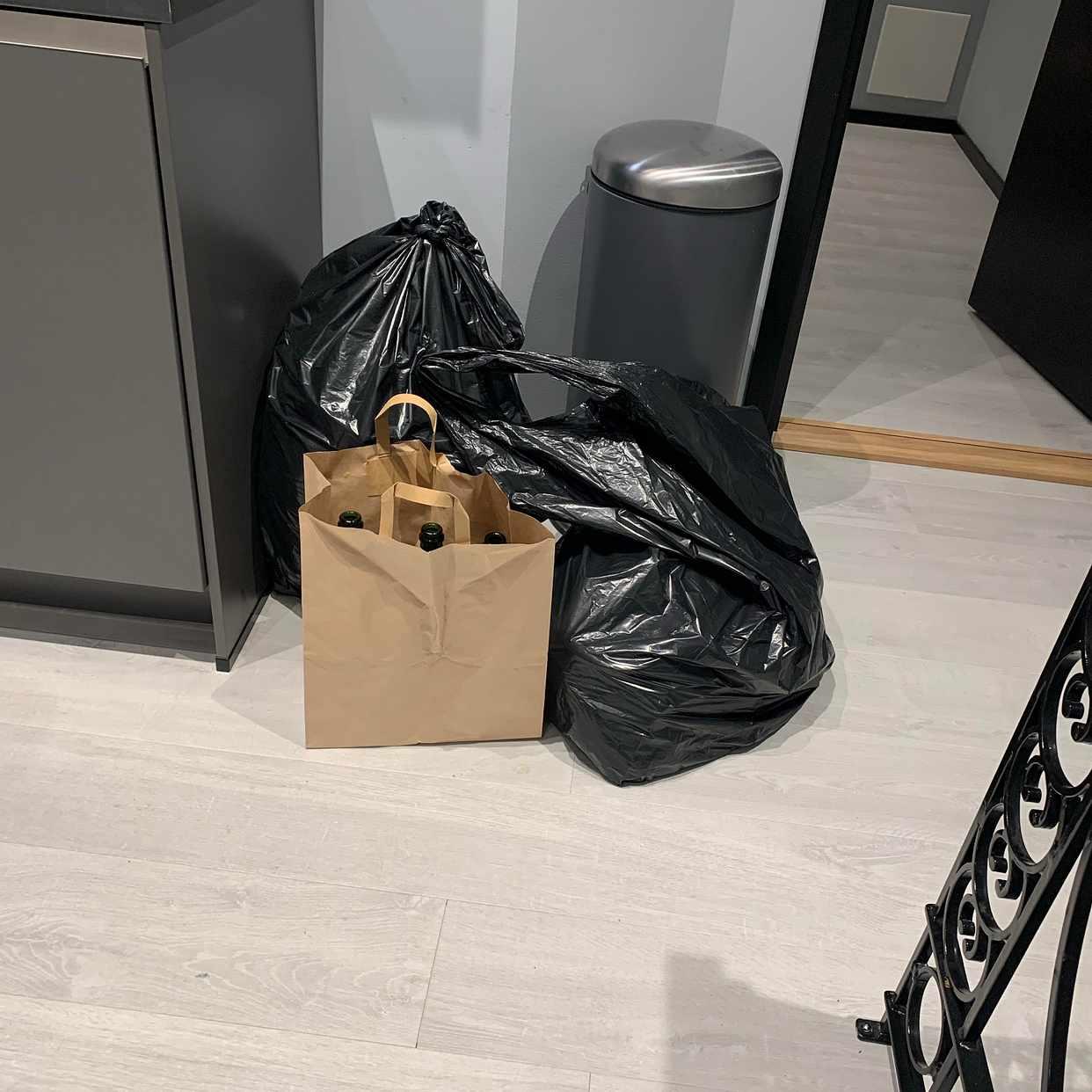 image of Kartonger, plast mm - Stockholm