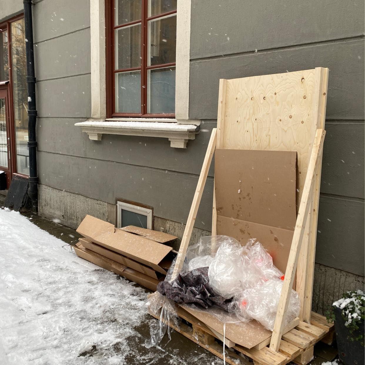 image of Kartong och plast - Stockholm