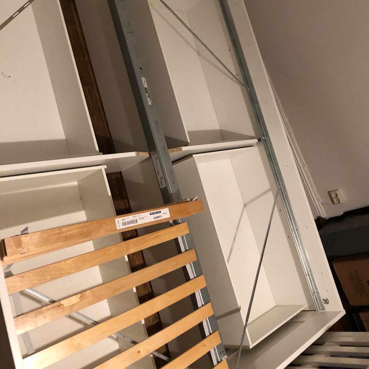 image of IKEA Brimnes Sängstomme - Solna