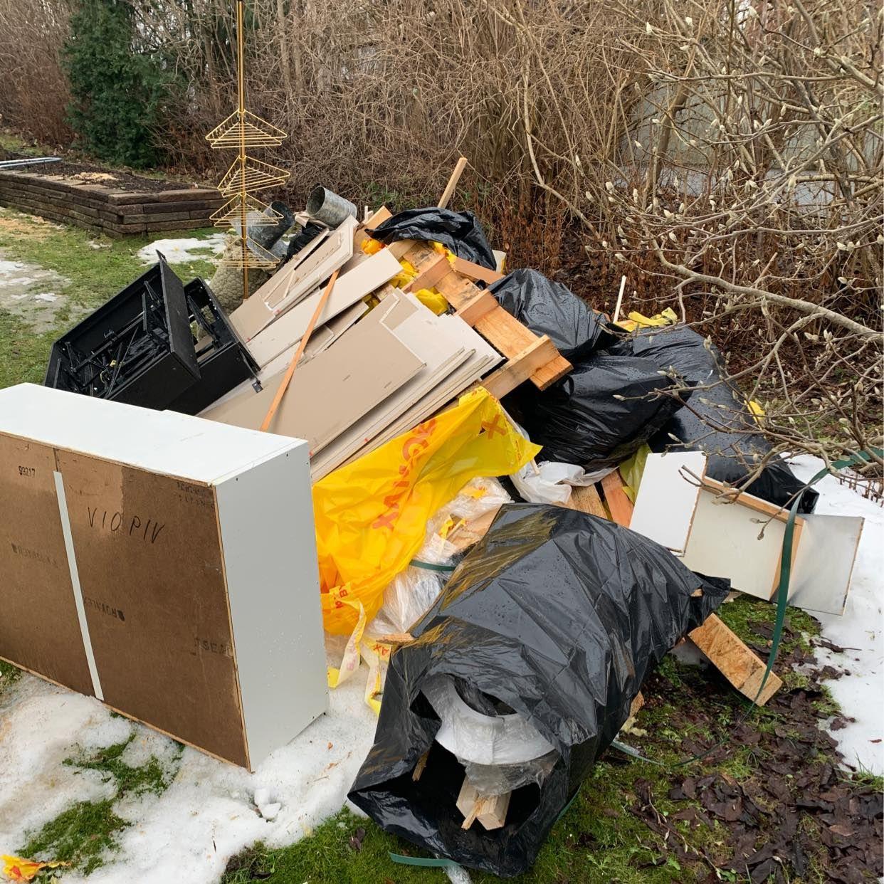 image of Hämta och återvinn. Tack - Järfälla