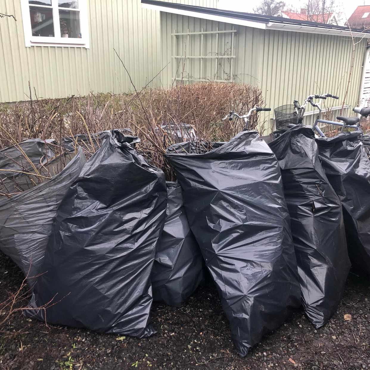 image of Trädgårdsavfall - Enskede