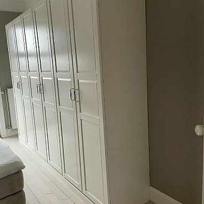 image of Garderob 3 sektioner -