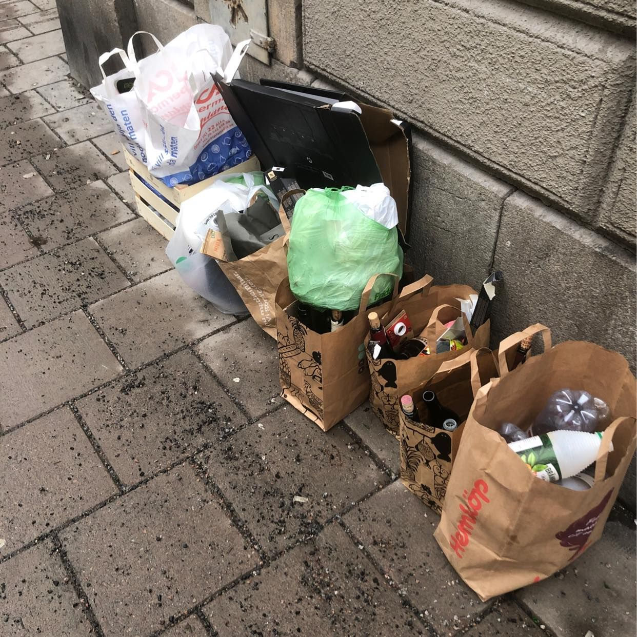 image of Återvinning - Stockholm