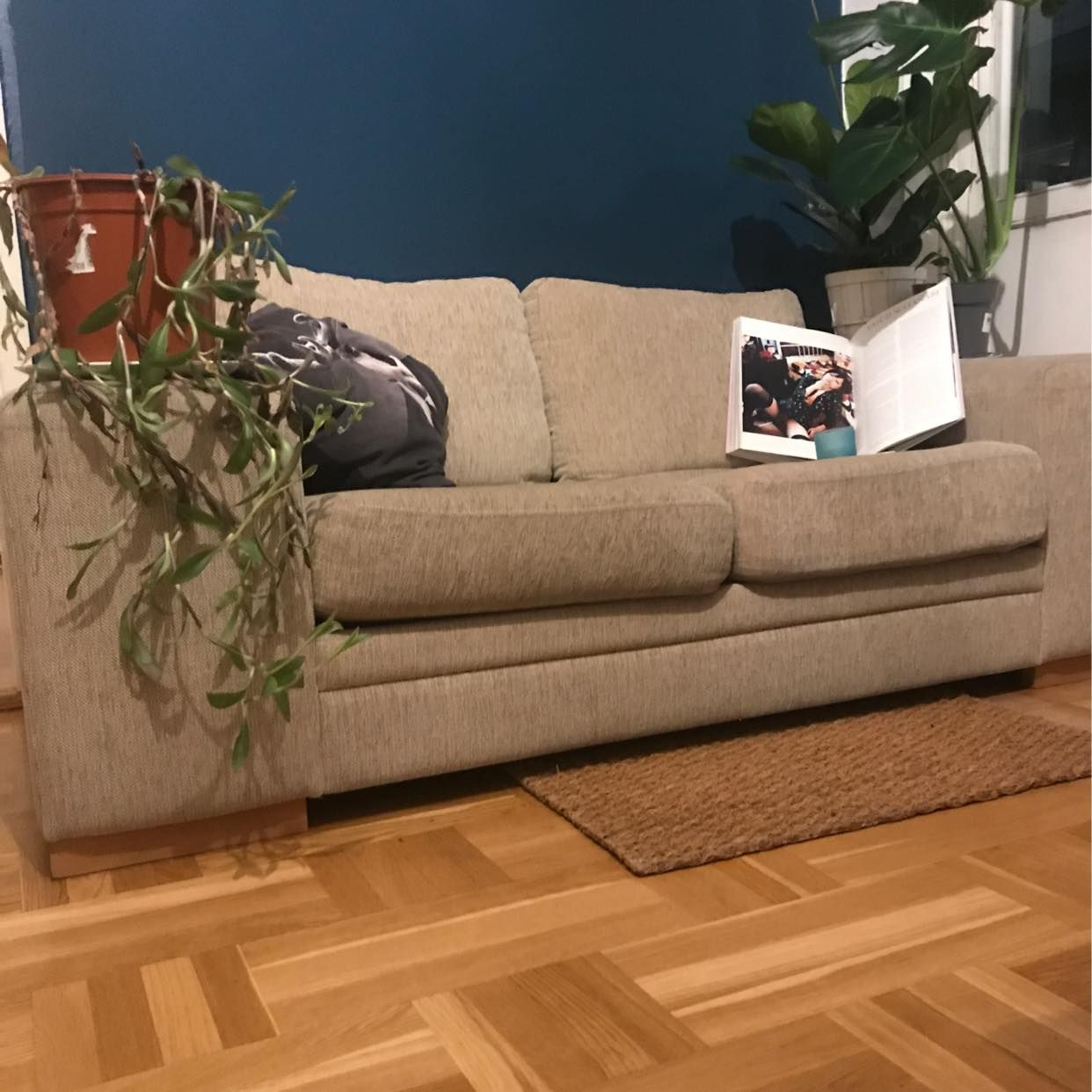 image of Beige sofa for two🏼 - Stockholm City