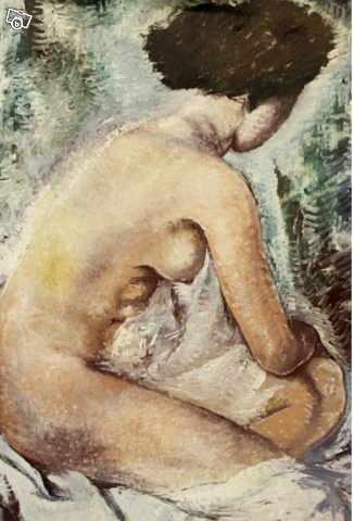 image of Oljemålning, Gösta Nordbl -