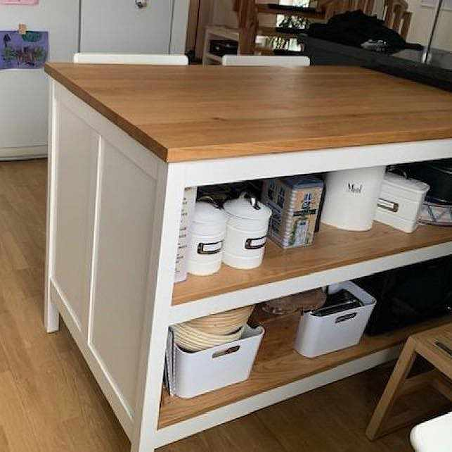 image of Kitchen island pick up -