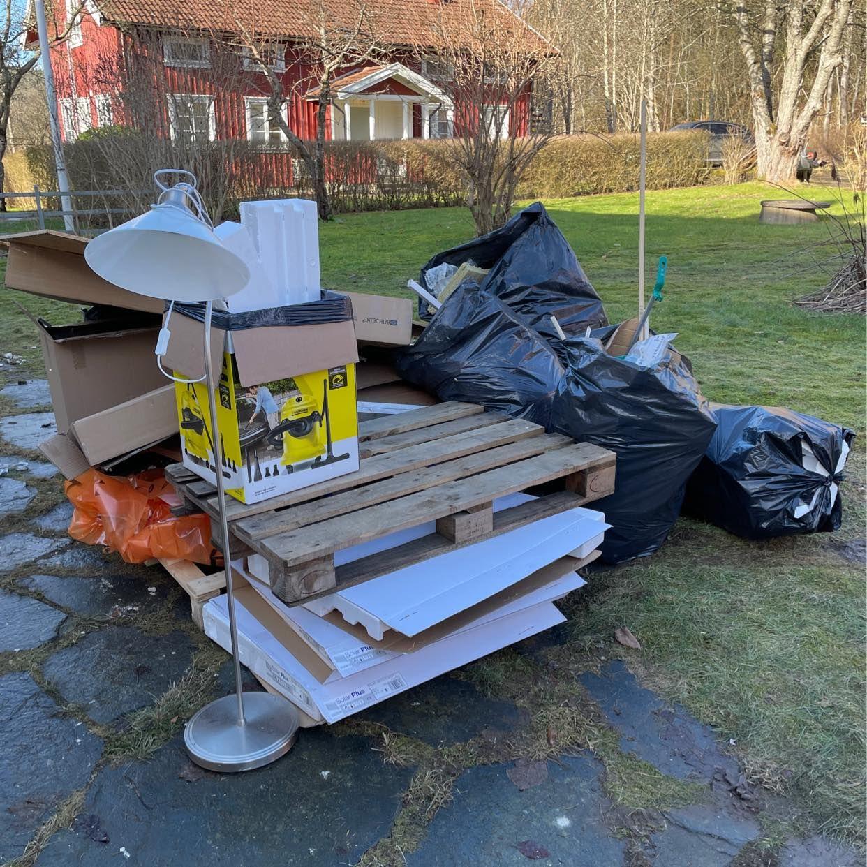 image of Blandat avfall - Rävlanda