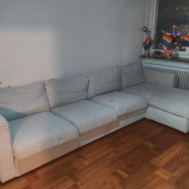image of Free big L sofa - Solna