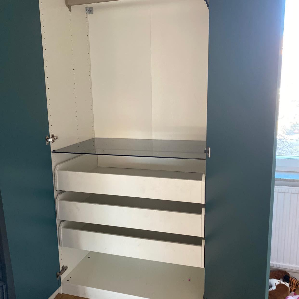 image of Ikea garderob 100cm - Skarpnäck