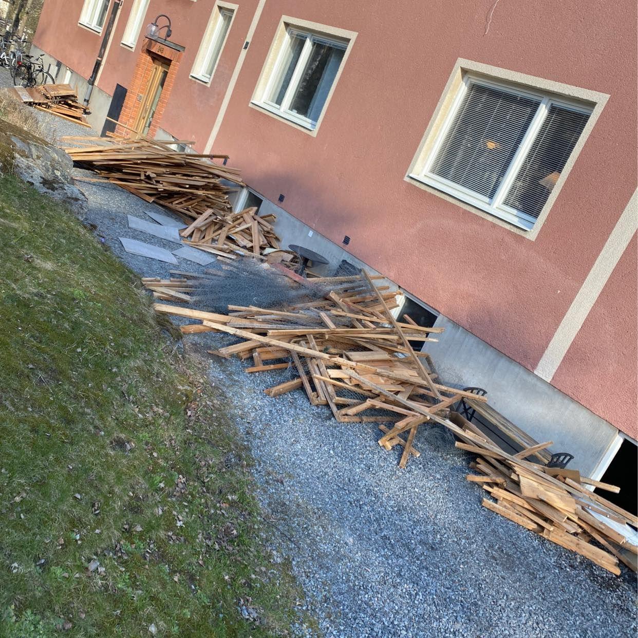 image of Hämta träreglar o hönsnät - Saltsjöbaden
