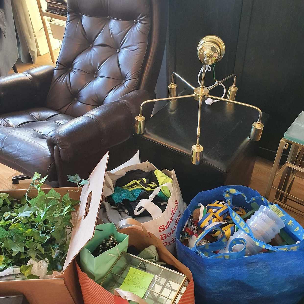 image of Kläder, inredning, möbler - Årsta