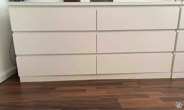 image of Byrå MALM IKEA -