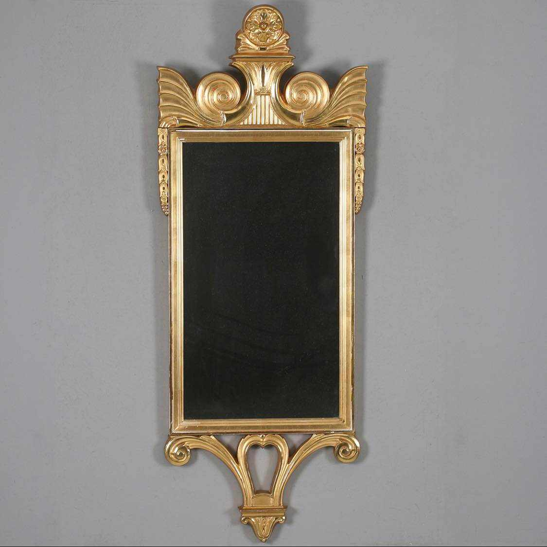 image of Hämta spegel + 2st tavlor -