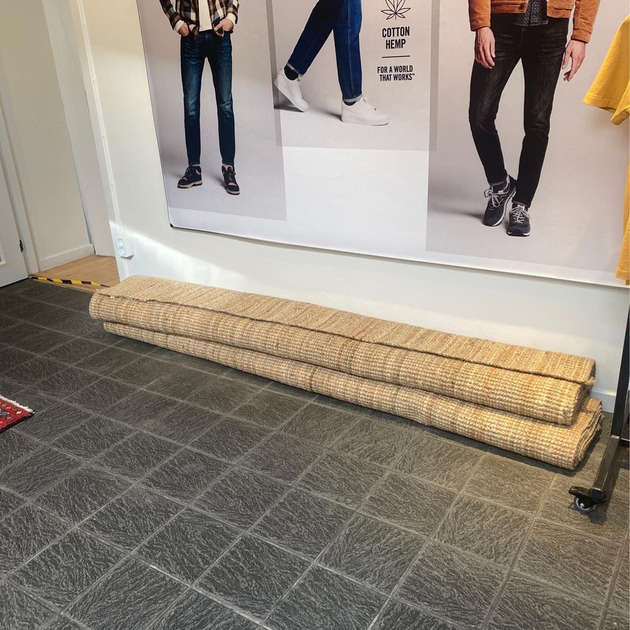 image of Slänga två mattor. - Stockholms Stad