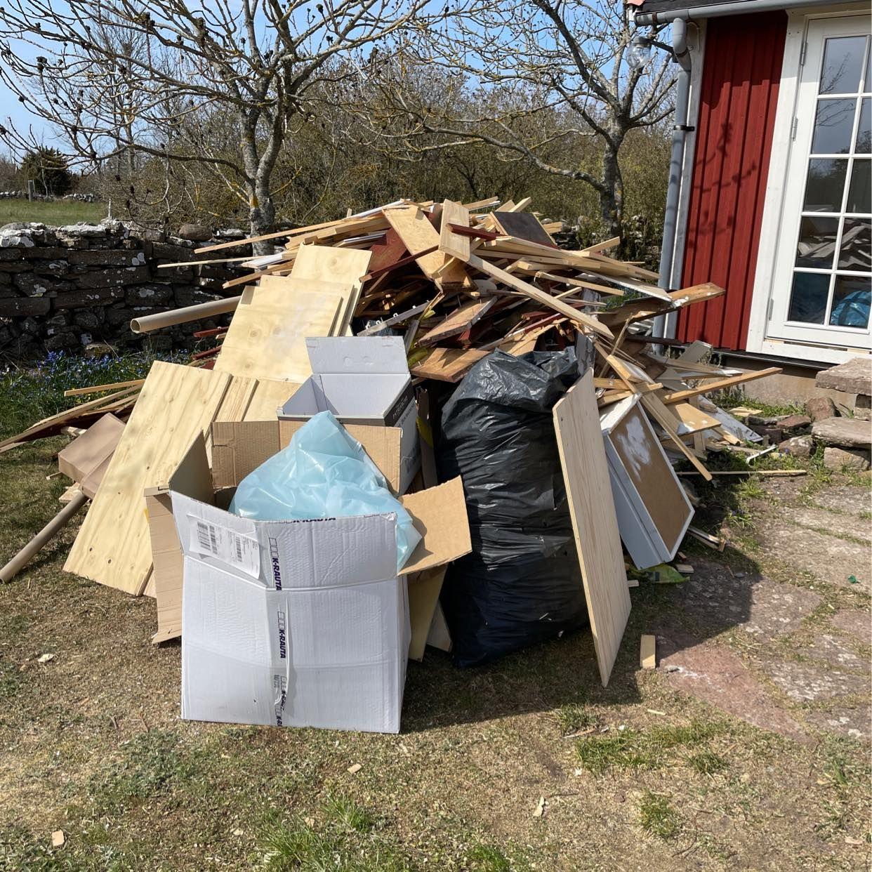 image of Brädor, plast, kartong, - Köpingsvik
