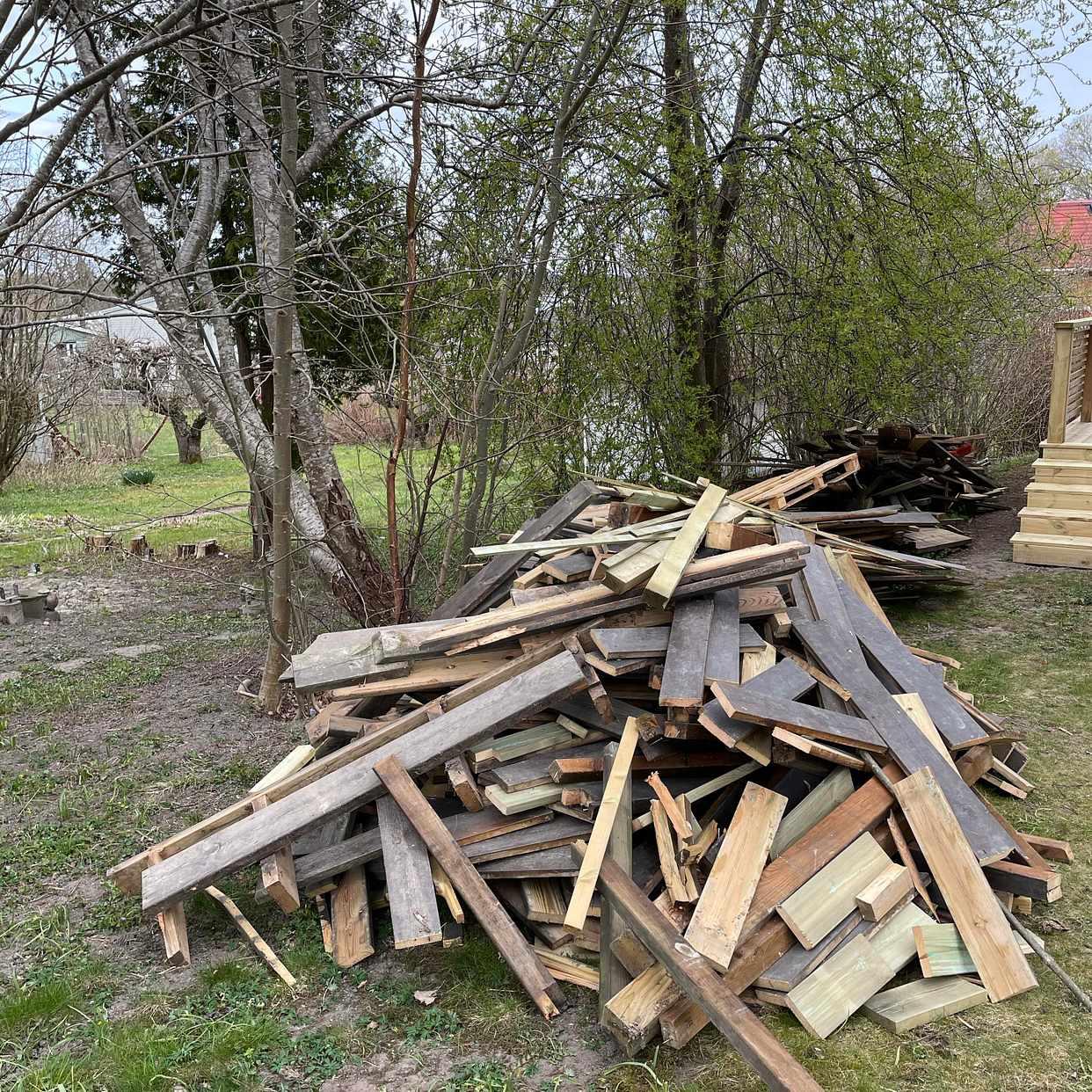 image of Återvinning trä & avfall - Österskär