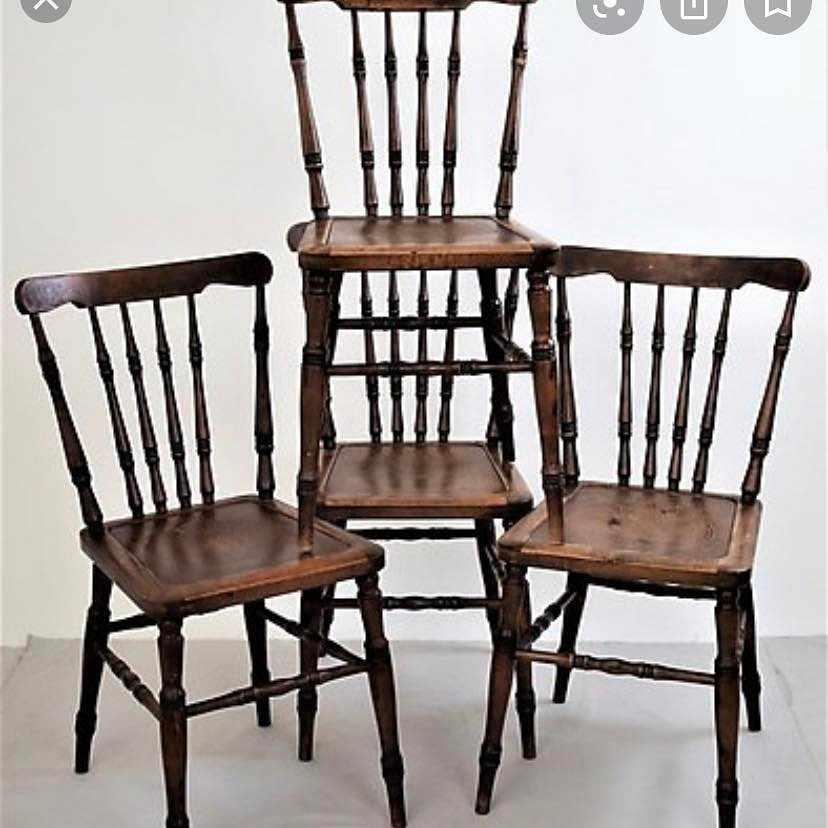 image of Hämta och lämna 4 stolar -