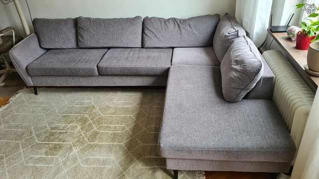 image of Soffa + soffbord (från Mi -