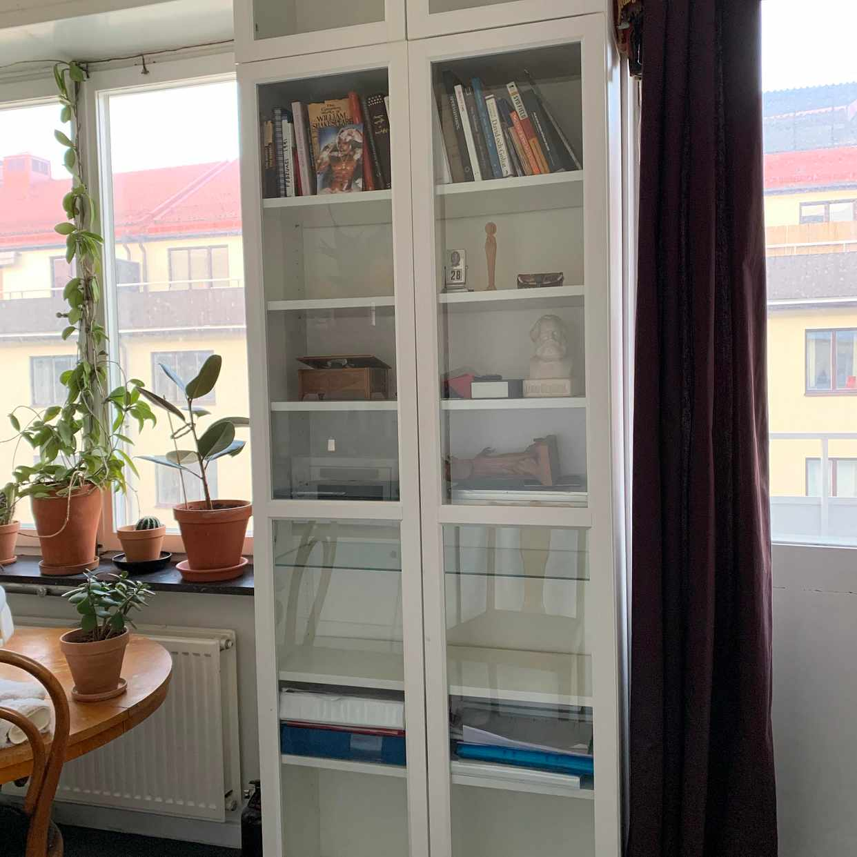 image of IKEA GLASS CABINET - Stockholm