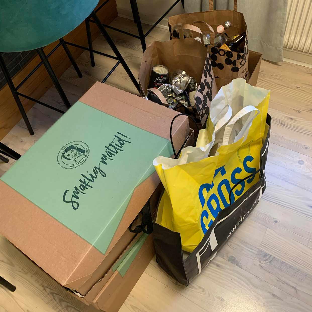 image of Avfall till återvinning - Årsta