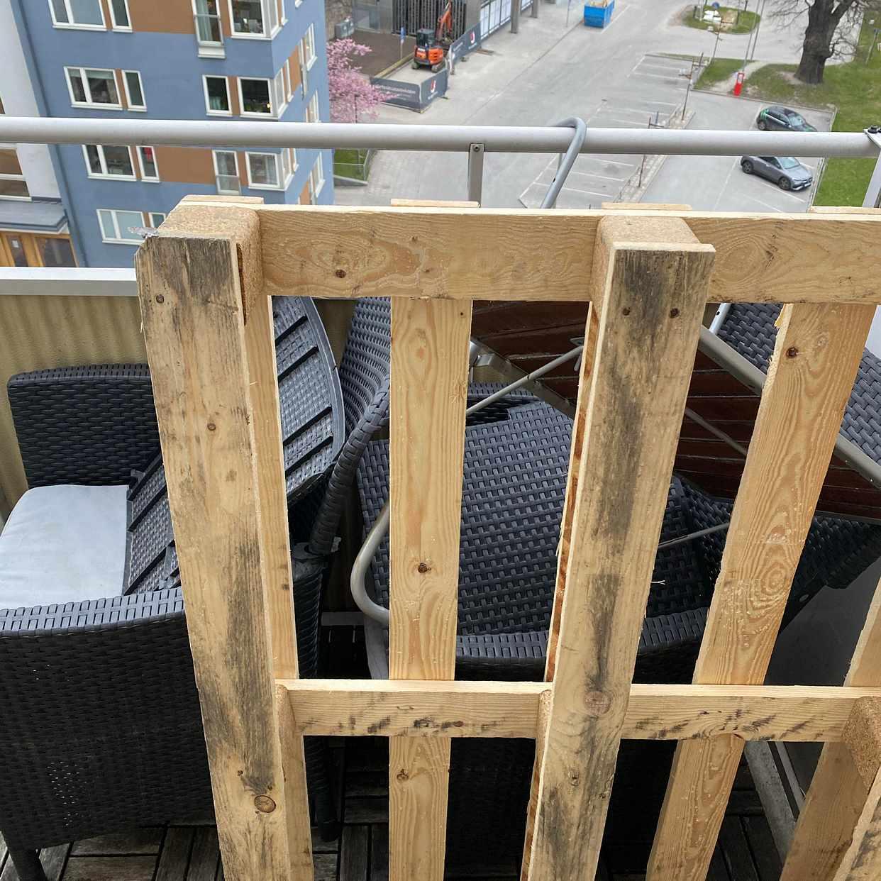 image of Balkongmöbler + pall - Stockholm