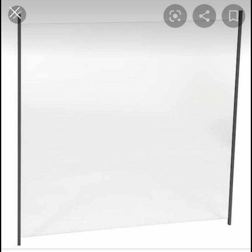image of 6 stycken glasskivor -