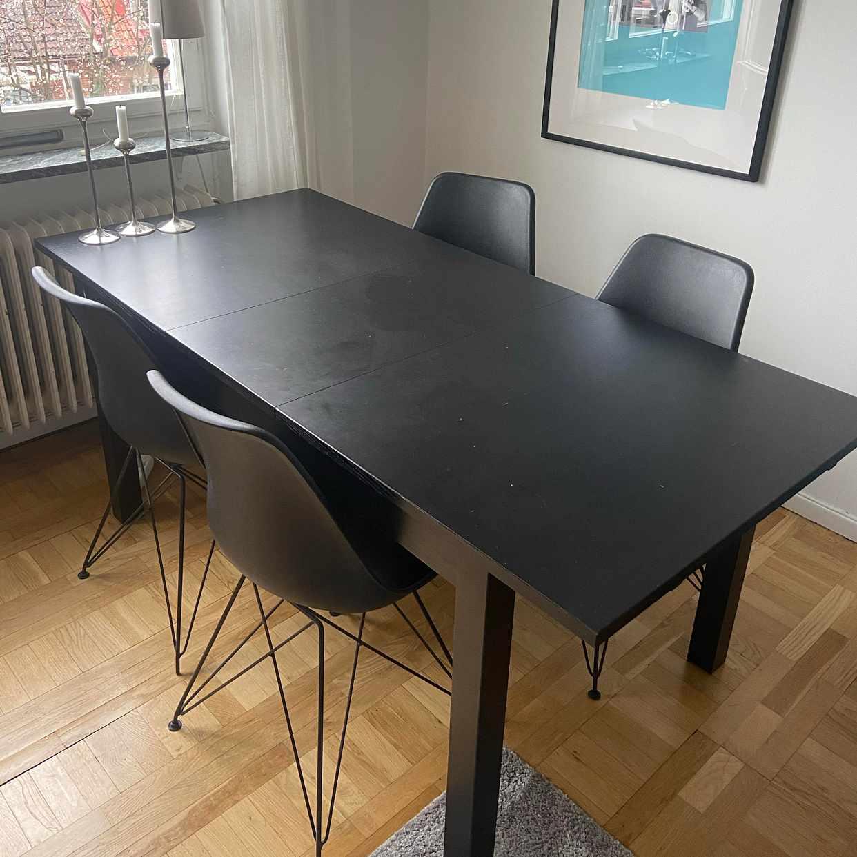 image of Bord och 4 stolar skänkes - Lund
