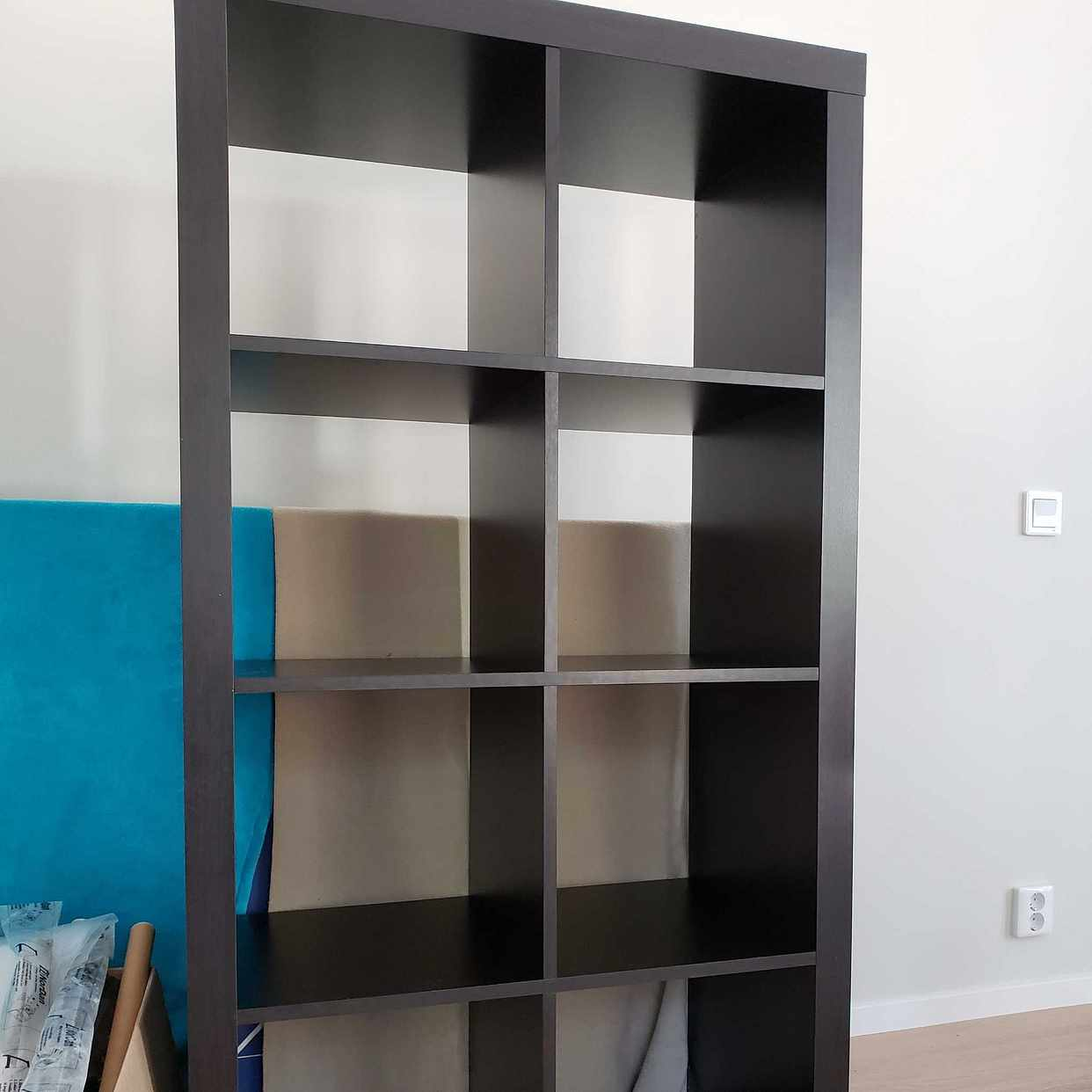 image of Ikea Kallax svart - Huddinge