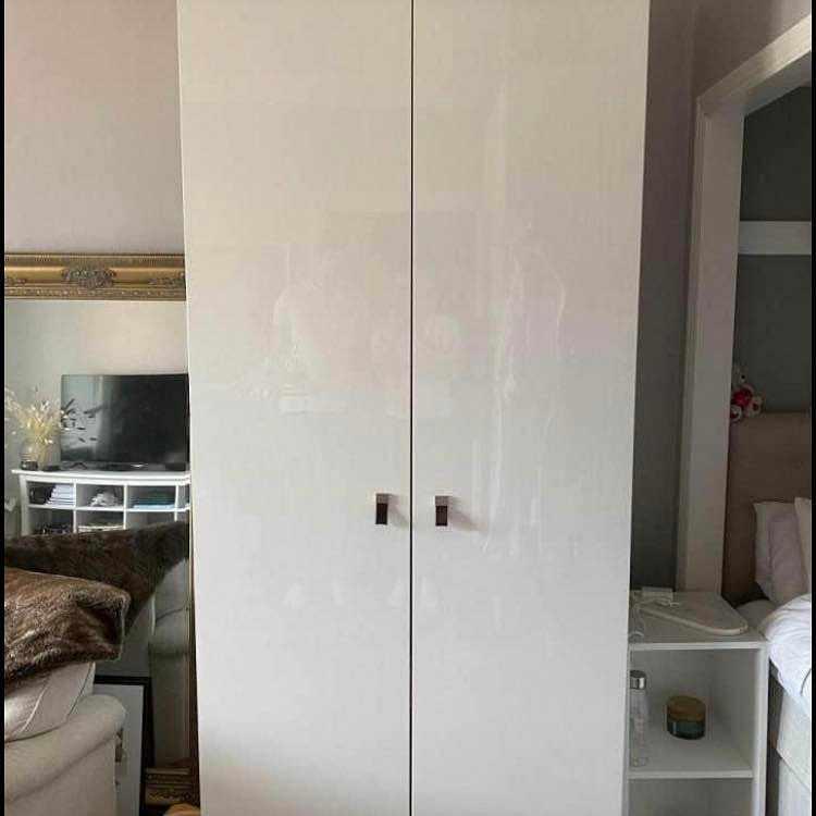 image of Garderob 100x236x60 cm -