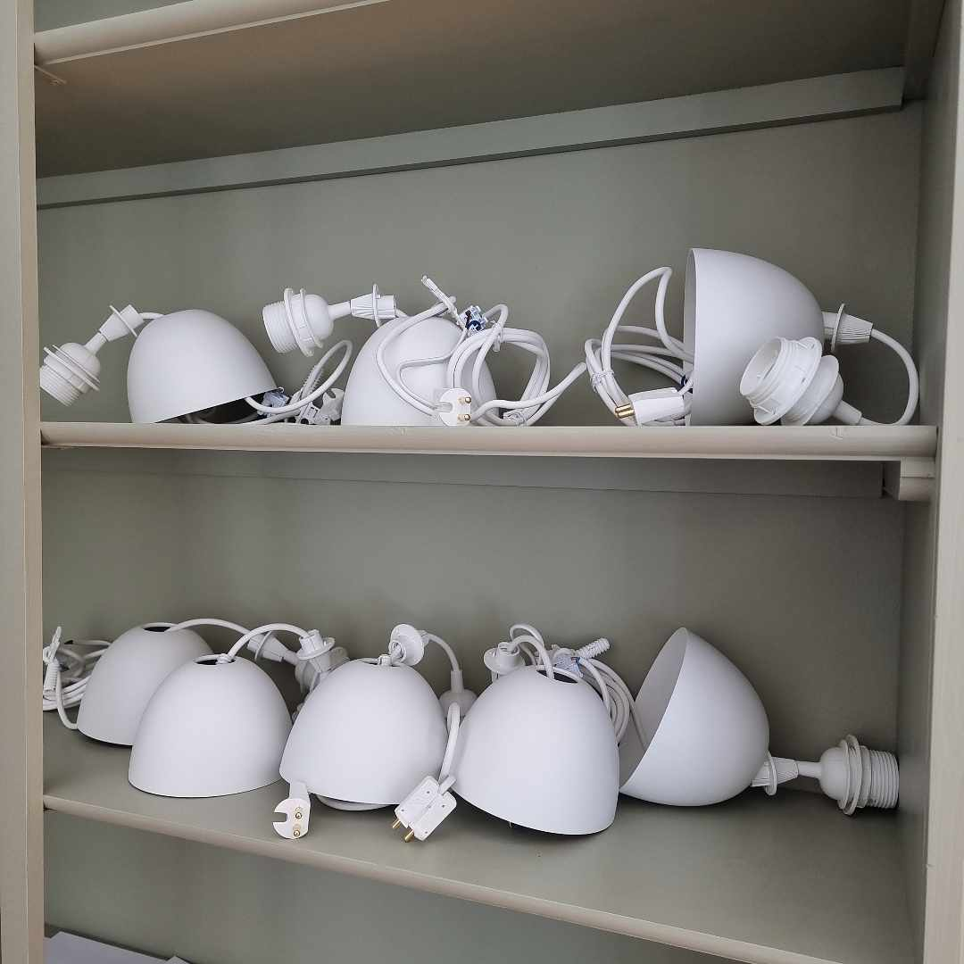 image of 8 light fittings - Bromma