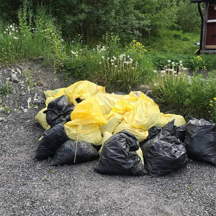 image of Trädgårdsavfall - Täby