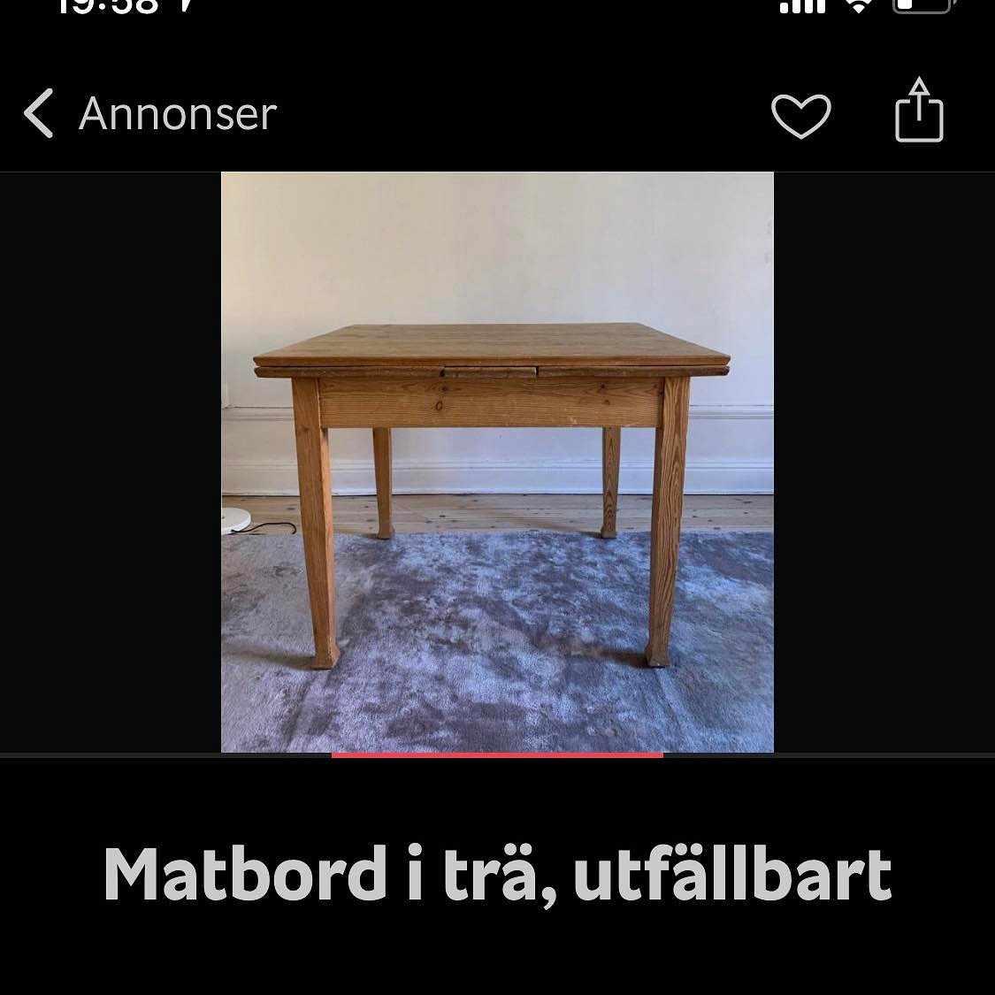 image of Matbord -