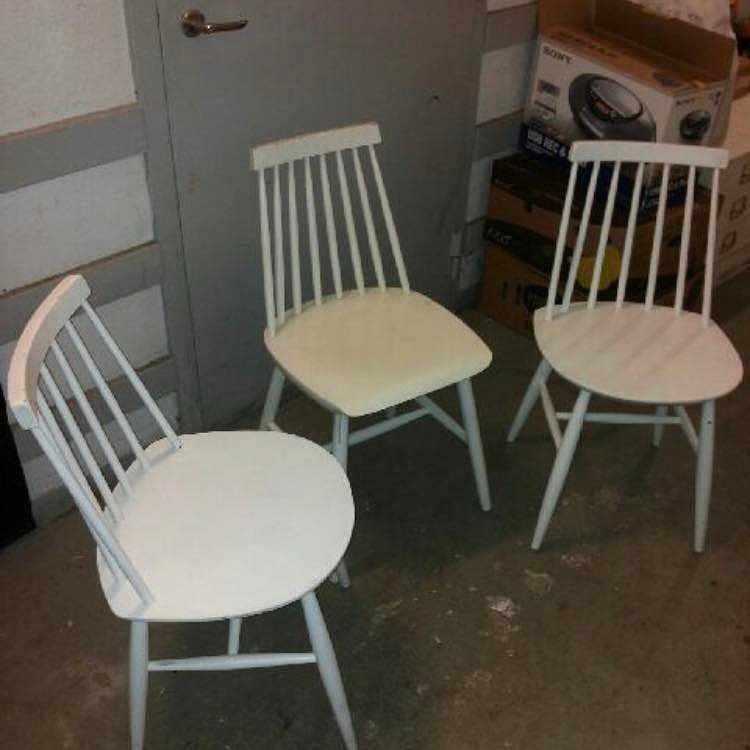 image of Hämta och lämna 3 stolar -