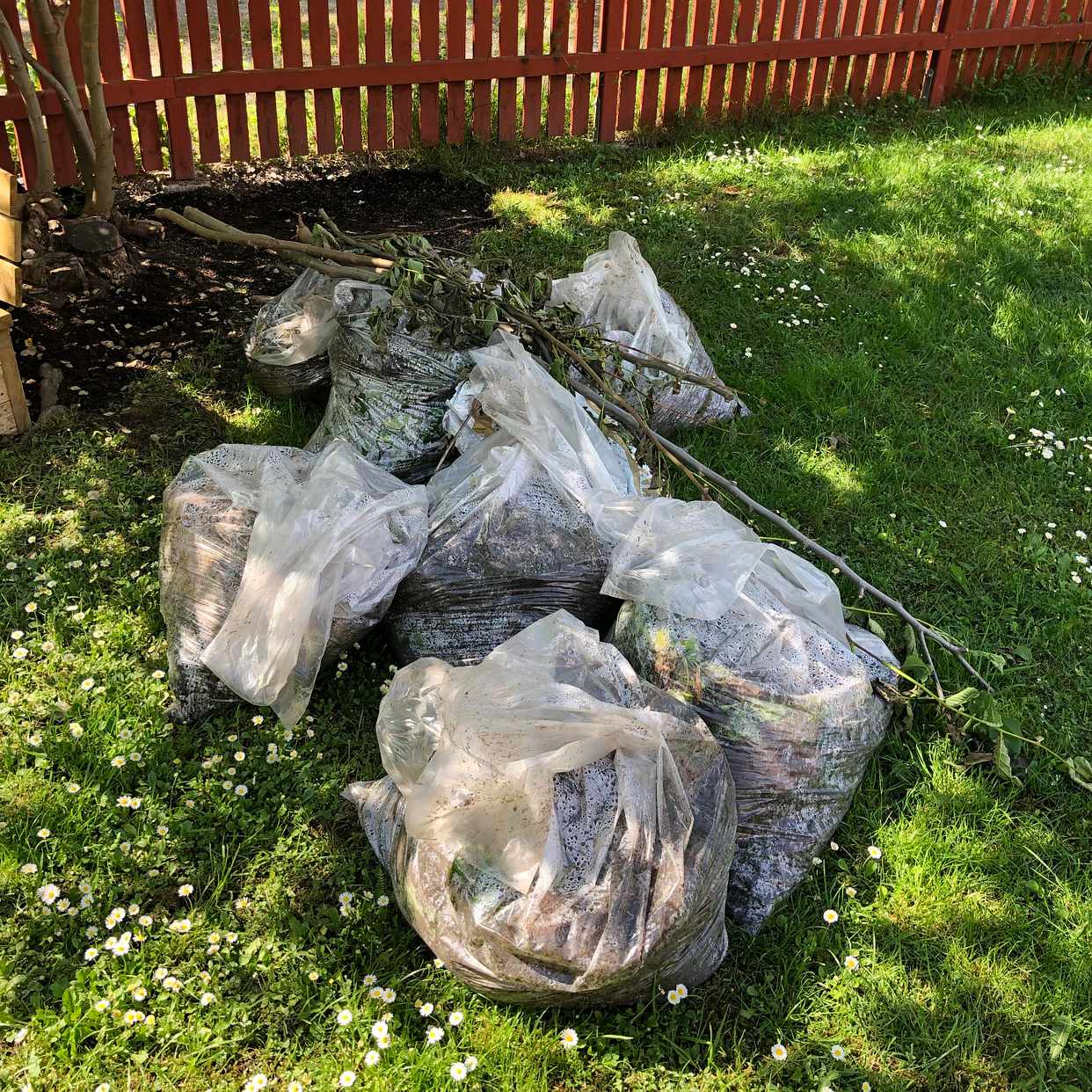 image of Garden waste - Stocksund