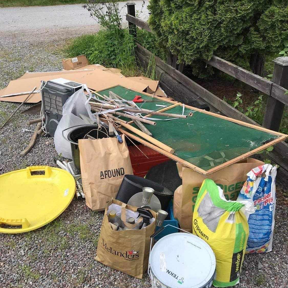 image of Köra till återvinning - Djursholm