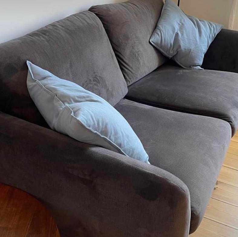 image of Hämta & leverera soffa -