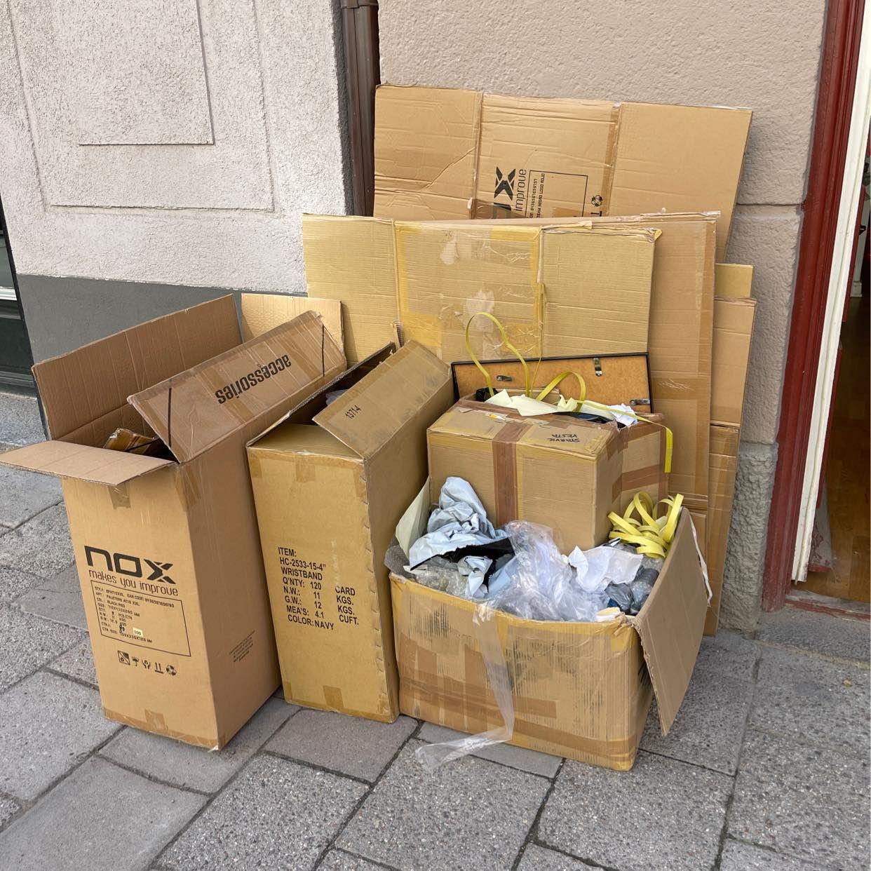 image of Kartonger, plast o glas - Stockholms Stad
