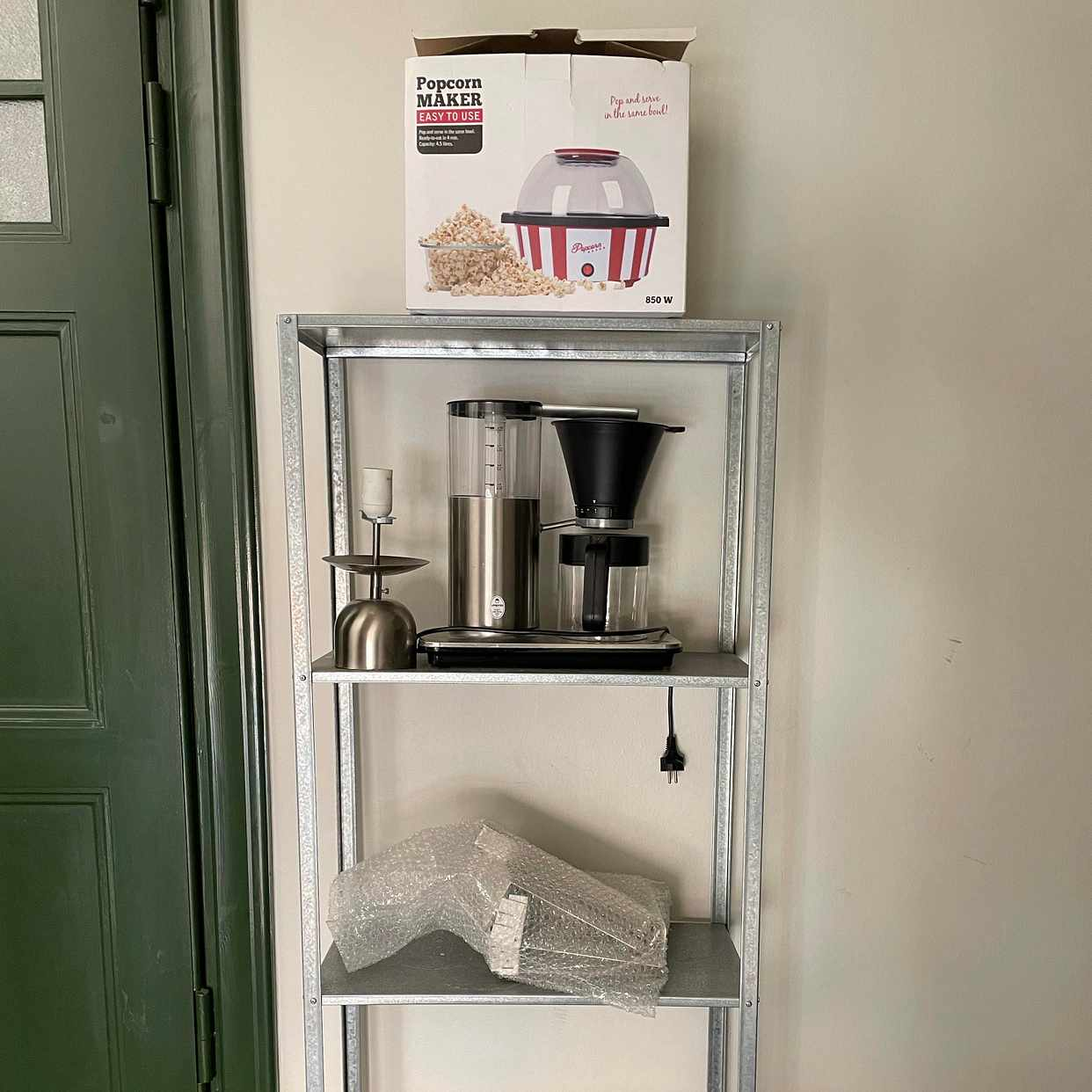 image of IKEA steel shelf and more - Stockholm