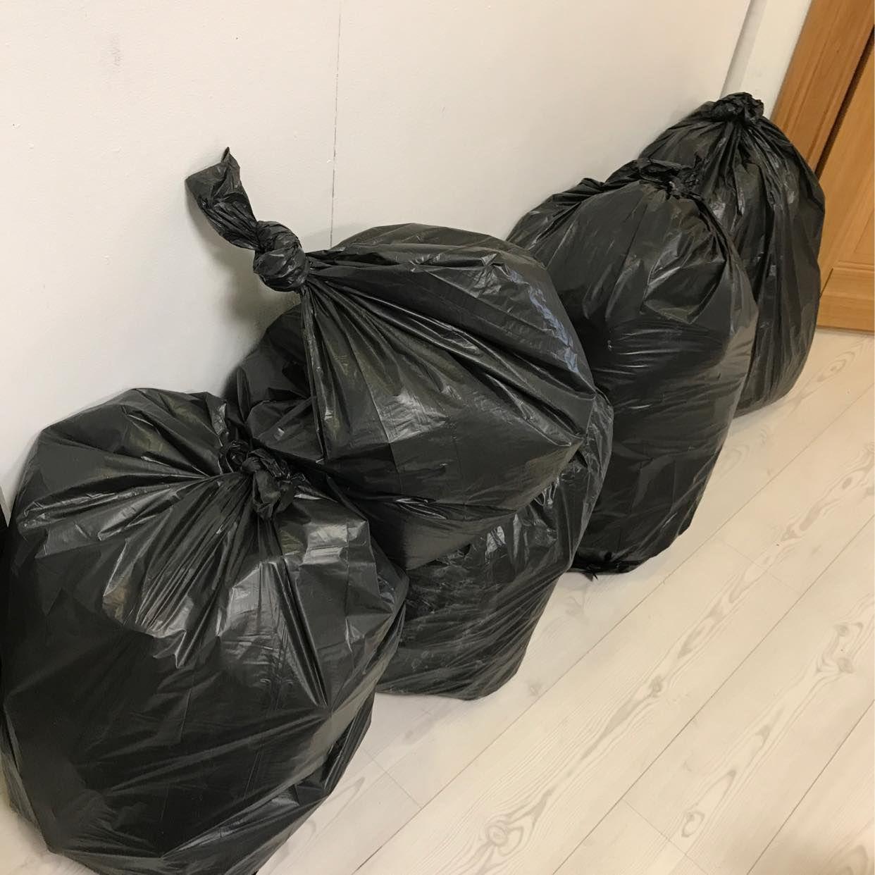 image of Sopsäckar och kartonger - Hägersten