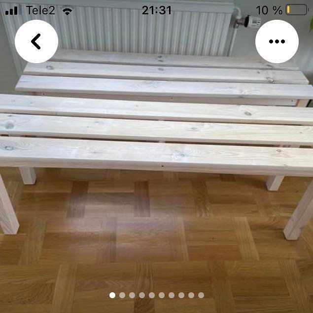 image of Flytt av bänkar -