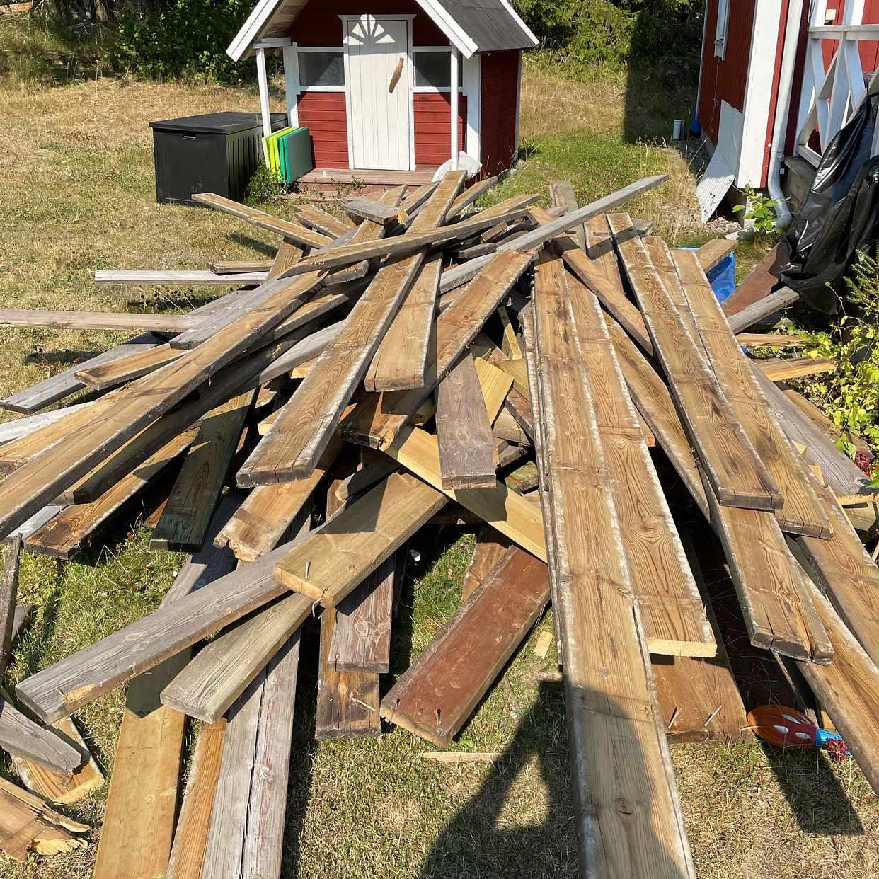 image of Slänga riven trall - Saltsjö-Boo