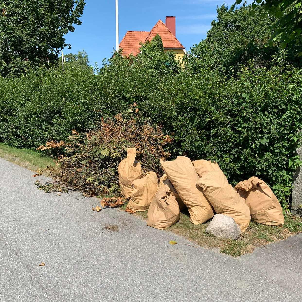 image of Trädgårdsavfall - Lidingö