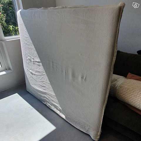 image of Sänggavel i linne 160 cm -