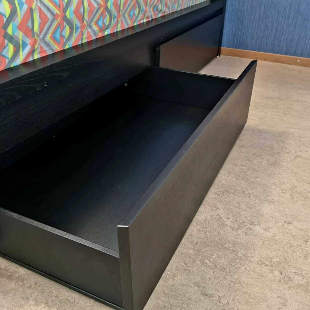 image of 3 st. IKEA Malm sänglådor - Sundbyberg