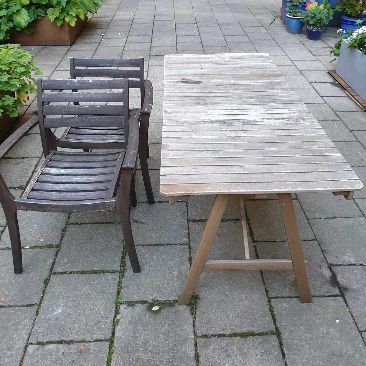 image of Bord och 2 stolar - Stockholm
